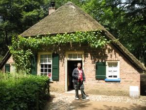 Openlucht Museum w Arnhem w Holandii