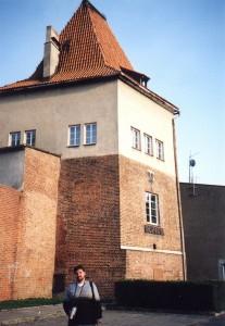 Wieża zamku w Koźlu