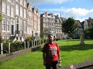 Beginaż w Amsterdamie w Holandii