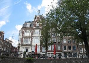 Rejs kanałami Amsterdamu w Holandii