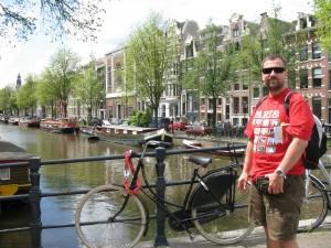 Amsterdam w Holandii