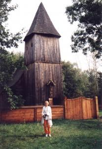 Kościół w Muzeum Wsi Opolskiej w Opolu-Bierkowicach