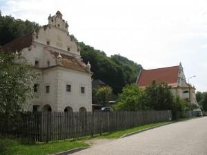 Spichlerze nad Wisłą w Kazimierzu Dolnym