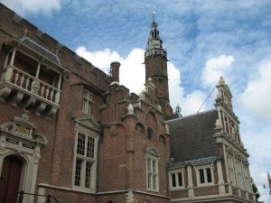 Ratusz (Stadhuis) w Haarlemie w Holandii