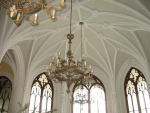 Sala gotycka w pałacu Czartoryskich w Puławach