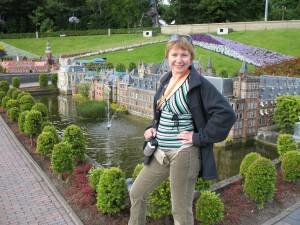 Park miniatur Madurodam w Holandii