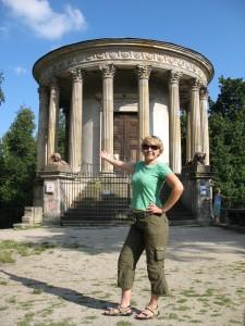 Świątynia Sybilli w parku przy Pałacu Czartoryskich w Puławach