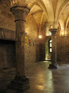 Zamek hrabiów w Gent w Belgii