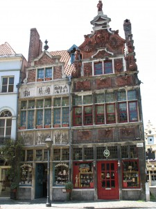 Kamienice w Gent w Belgii