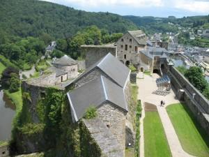 Zamek w Bouillon w Belgii