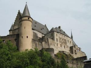 Zamek Vianden w Luksemburgu