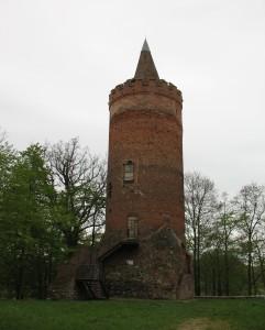 Wieża zamku w Golczewie