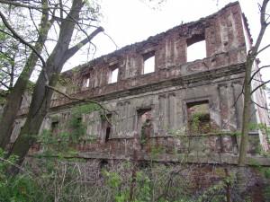 Ruiny zamku w Otyniu