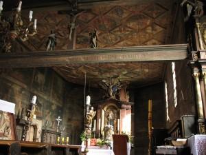 Kościół drewniany w Michalicach