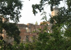 Ruiny zamku w Urazie