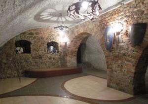 Piwnice zamku w Kożuchowie