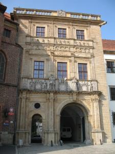 Renesansowa brama zamku w Brzegu