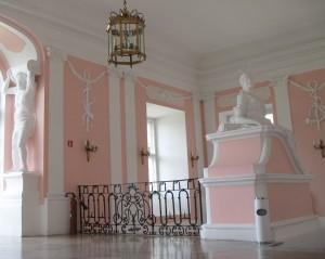 Wnętrze zamku w Rydzynie