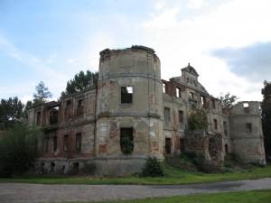 Ruiny zamku w Czerninie Górnej
