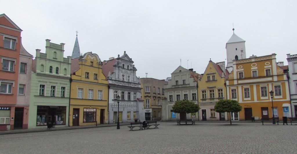 Rynek w Bytomiu Odrzańskim