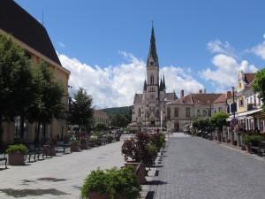 Fő tér w Kőszeg na Węgrzech