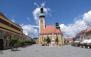 Jurisics tér w Kőszeg na Węgrzech