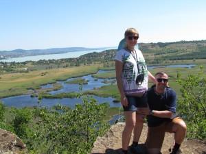 Jezioro Zewnętrzne - Külső-tó na Półwyspie Tihany na Węgrzech