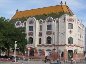 Zdobny Pałac w Kecskemét na Węgrzech