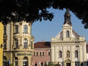 Széchenyi tér w Peczu na Węgrzech