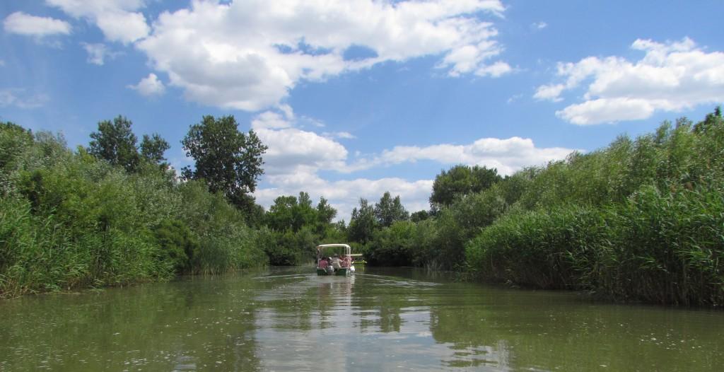 Rejs po jeziorze Cisa (Tisza) na Węgrzech