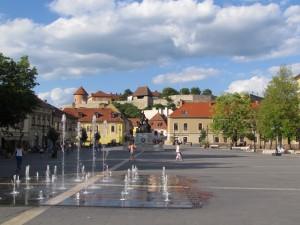 Dobó István tér w Egerze na Węgrzech