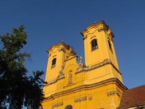 Kościół franciszkanów w Egerze na Wegrzech