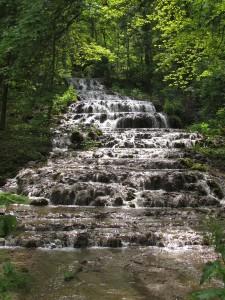 Wodospad w dolinie Szalajka na Węgrzech
