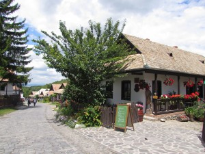 Wieś-skansen Hollókő na Węgrzech