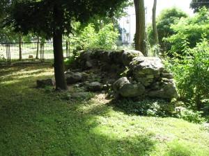 Pozostałości po zamku w Piszu