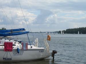 Przystań jachtowa w Mikołajkach