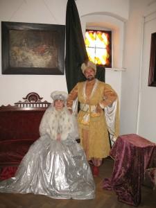Na zamku w Kętrzynie