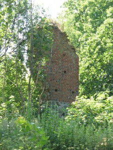 Pozostałości zamku w Szestnie