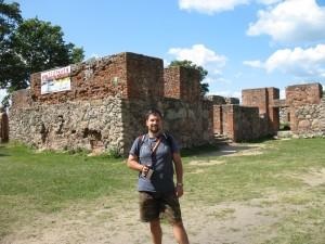 Ruiny zamku w Szczytnie