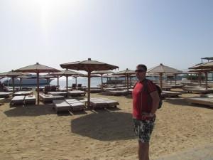 Plaża Hotelu Safir w Hurgadzie w Egipcie