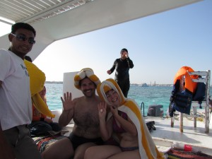 Rejs łodzią ze szklanym dnem w Egipcie