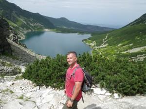 Czarny Staw Gąsienicowy w Tatrach
