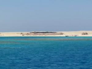 Podczas wycieczki na wyspę Giftun w Egipcie