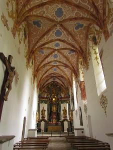 Kościół w Czerwonym Klasztorze na Słowacji