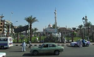 W drodze do Luxoru w Egipcie
