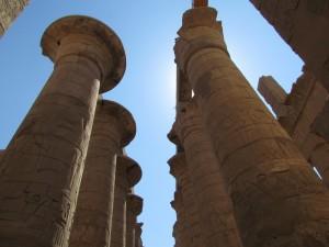 Świątynia Amona w Karnaku w Egipcie