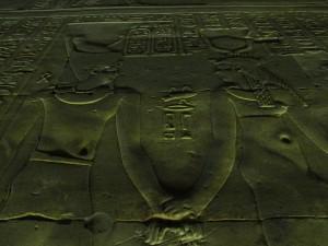 Świątynia Horusa w Edfu w Egipcie
