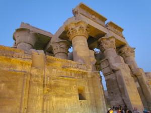 Świątynia boga Sobka w Kom Ombo w Egipcie