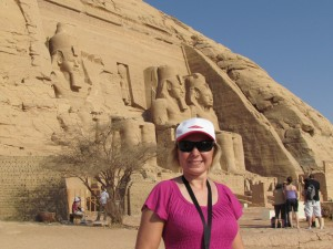 Świątynia Ramzesa II w Abu Simbel w Egipcie