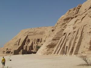 Świątynie w Abu Simbel w Egipcie